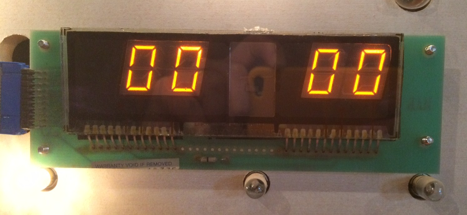 4DigitDisplay0250 - Williams 4-digit display board