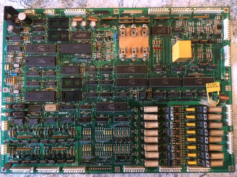 Williams System 11A MPU board FRONT