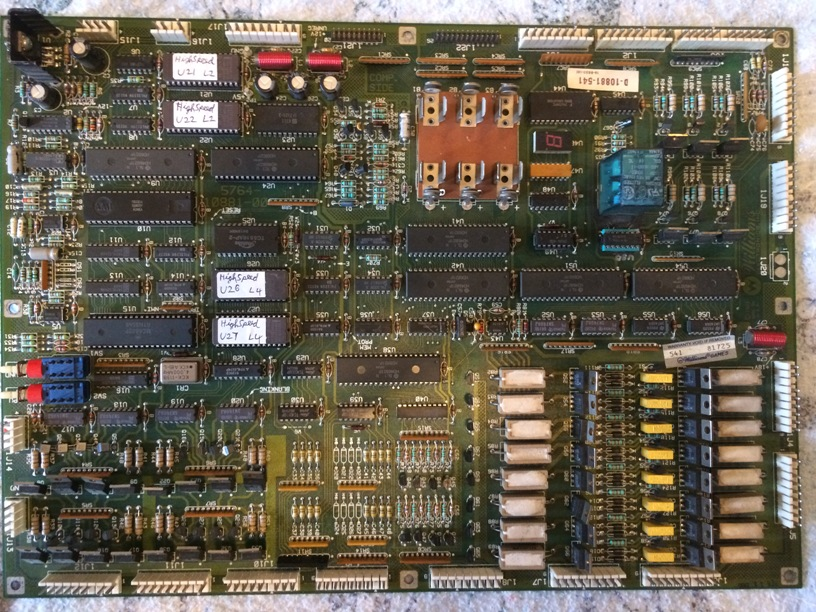 Williams System 11 MPU board FRONT